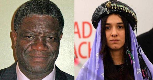 تتويجا لجهودها في مكافحة الاستعباد الجنسي.. تتويج عراقية وكونغولي بجائزة نوبل للسلام