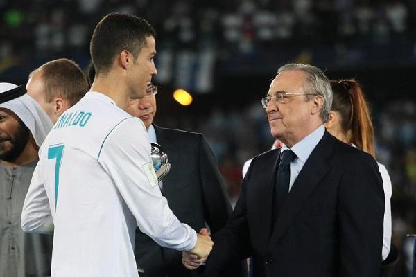 منها قضية الاغتصاب.. رونالدو يتهم رئيس ريال مدريد بتدبير أزماته