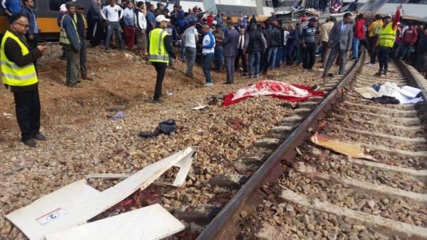 حصيلة أولية: 6 قتلى وأزيد من 70 جريحا في انقلاب قطار بوقنادل