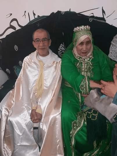 بالصور.. دار العجزة في عين عودة تحتفل بزفاف نزيلين