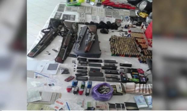 بالفيديو.. تفاصيل المحجوزات في المخزن السري لشبكة تهريب الكوكايين