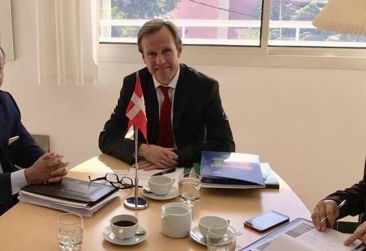 سفير الدانمارك في الرباط: أشكركم على التضامن