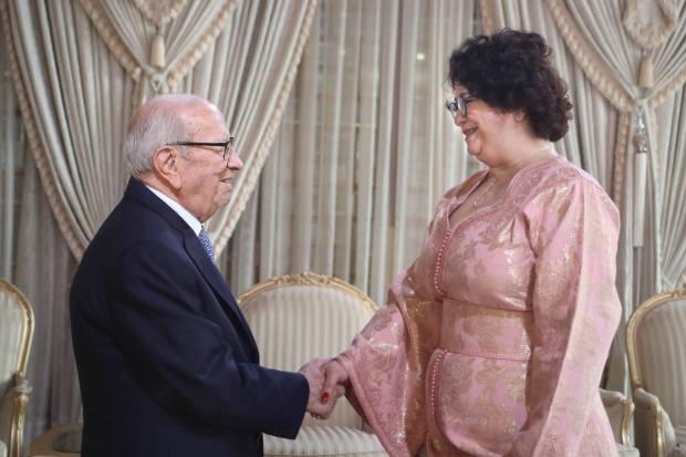 الرئيس التونسي لأخرباش: أتمنى لك النجاح وبلغي تحياتي الحارة إلى الملك