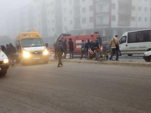 بالصور من كازا.. وفاة تلميذة وإصابة 6 في حادث سير لحافلة للنقل المدرسي