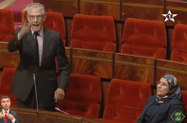 برلماني للداودي: انت ووزير ولا كورتي؟ (فيديو)