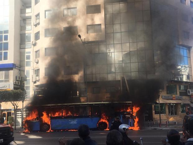 بالصور من كازا.. طوبيس شعلات فيه العافية