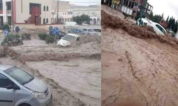 بسبب الفيضانات.. وفاة 5 أشخاص في الجزائر