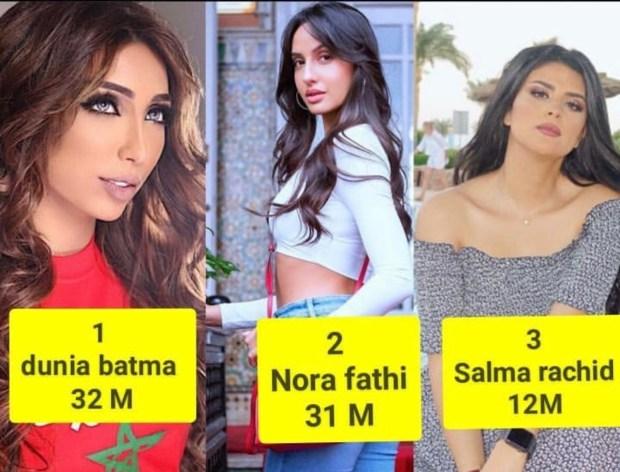 على إنستغرام.. دنيا بطمة تتصدر قائمة الفنانات الأكثر إعجابا