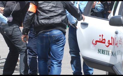 مجرم هاجم الأمن وعرض حياة مواطنين للخطر.. القرطاس فكازا