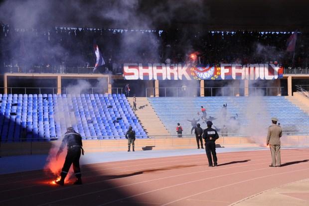 بعد شغب ملعب مراكش.. عقوبات وغرامات قاسية تنتظر الفريق المسفيوي (صور)