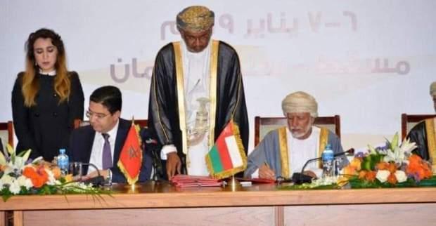 مباحثات واتفاقيات.. بوريطة يلتقي نظيره في سلطنة عمان (صور)