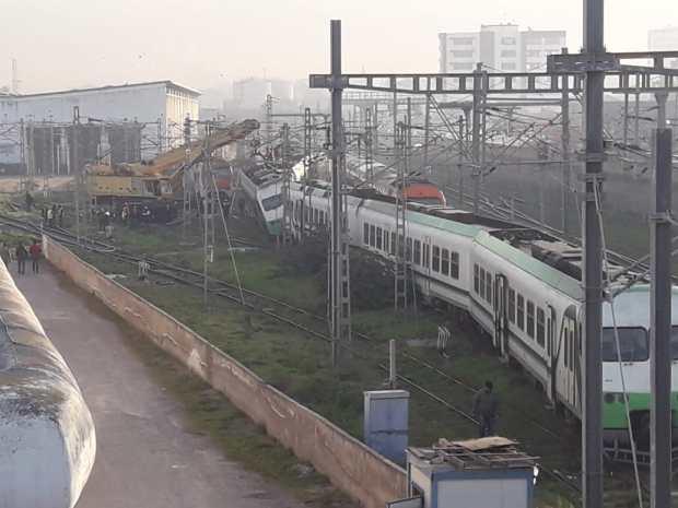 اصطدام قطارين في كازا.. شنو وقع؟