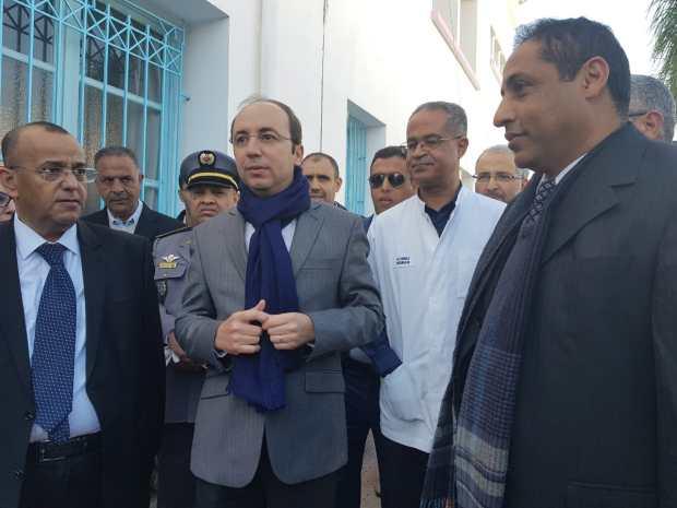 مبروك لناس إنزكان آيت ملول.. انطلاق خدماتالمركب الجراحي الجديد (صور)