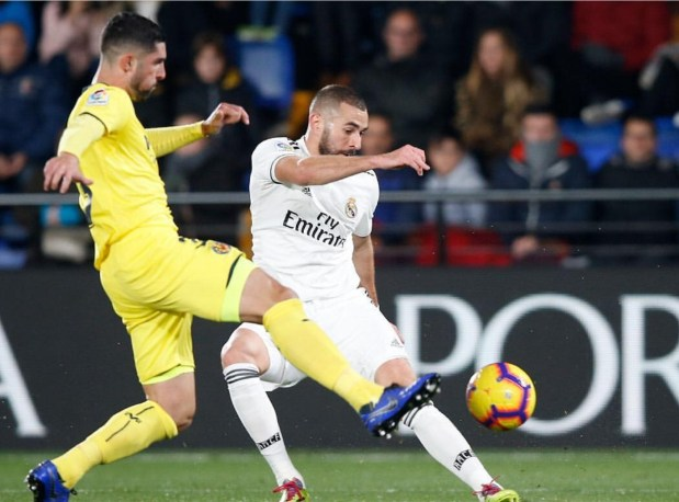 بالصور والفيديو.. ريال مدريد يتعادل أمام فياريال