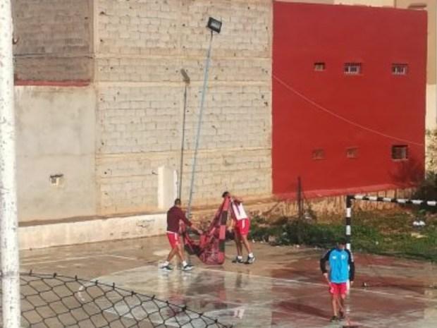 بعد الكراطة في الرباط.. المانطة في سيدي إفني! (صور)