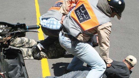 اعتدى على شرطي وهدد مواطنين بسلاح أبيض.. البوليس يطلق الرصاص على مشرمل في برشيد