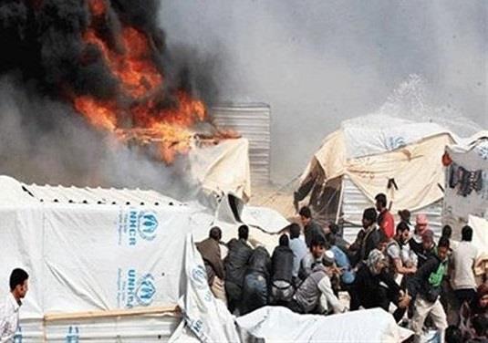 مأساة.. سورية تحرق نفسها و3 من أطفالها بسبب الجوع والبرد