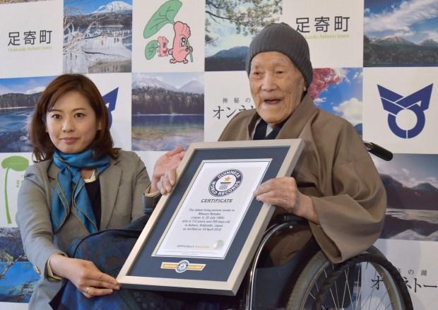 عن سن 113 عاما.. وفاة أكبر معمر في العالم