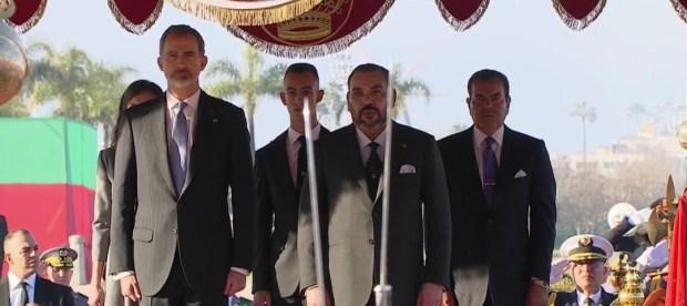 الرباط..حفل استقبال رسمي على شرف عاهلي إسباني الملك فيليبي السادس والملكة ليتيثيا