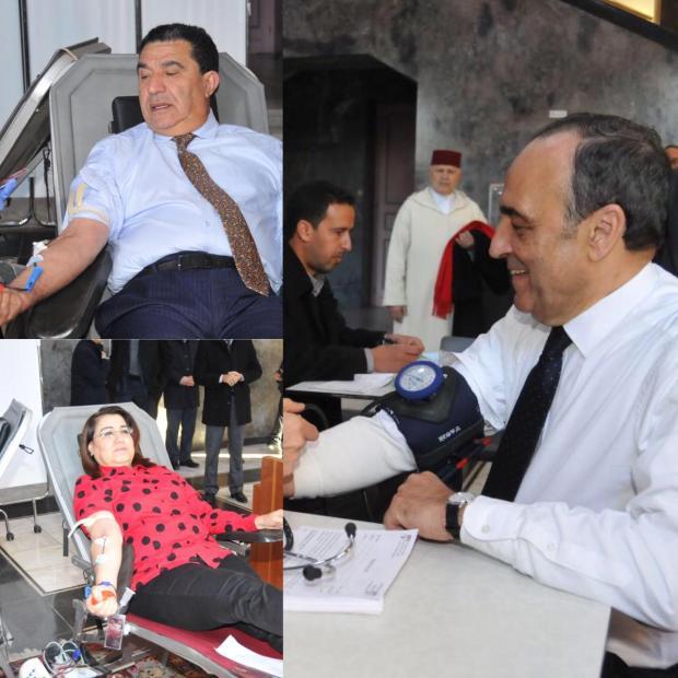 بالصور من مجلس النواب.. برلمانيون يتبرعون بدمائهم (صور)