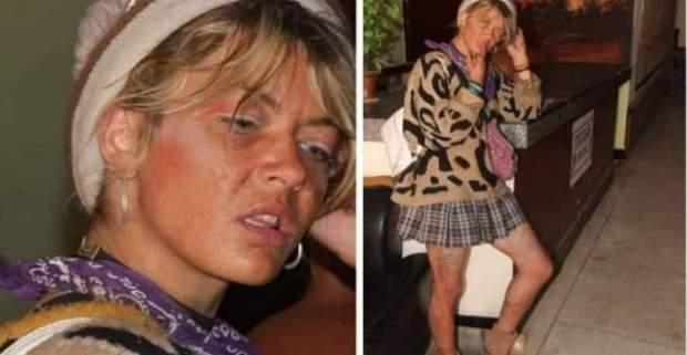بالصور.. سائحة بريطانية في حالة تشرد تستنفر سلطات طانطان