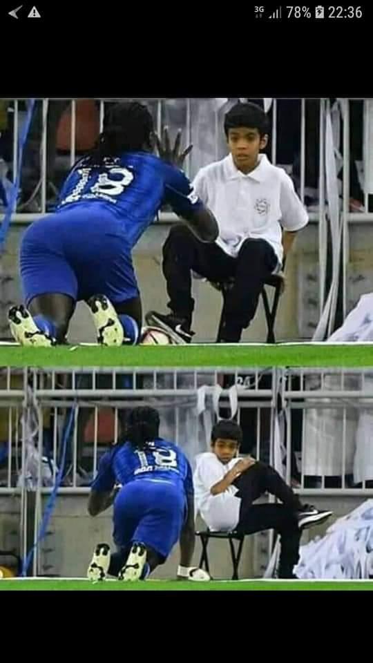 """السعودية.. غوميز """"قتل"""" طفل بالخلعة ومن بعد اعتذر ليه!!"""