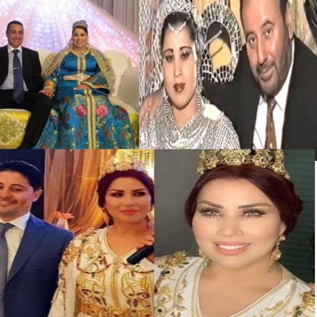 بالصور والفيديوهات.. سعيدة شرف وأزواجها الثلاثة