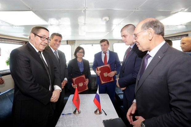 منحة لخريجي التكوين البحري وتشغيل 300 بحار.. اتفاق مغربي روسي (صور)