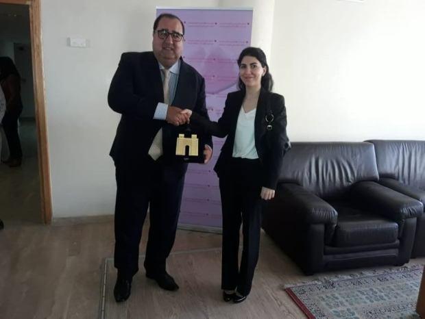 استقبل وفدا حزبيا دعاه إلى الدفع بتسريع فتح سفارة المغرب في العراق.. لشكر مگابل الدبلوماسية (صور)