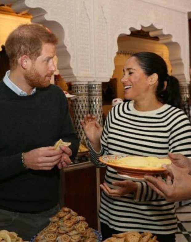 بعد زيارة الأمير هاري وزوجته إلى المغرب.. البغرير والبسطيلة بالدجاج منوضين الصداع فبريطانيا!