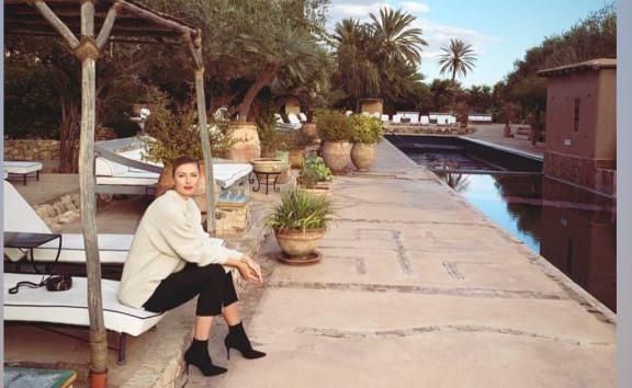 بالصور والفيديو.. الحسناء شاربوفا تسقط في حب مراكش