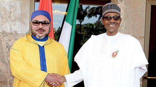 عقب إعادة انتخابه رئيسا لنيجيريا.. الملك يجري مباحثات هاتفية مع بوهاري