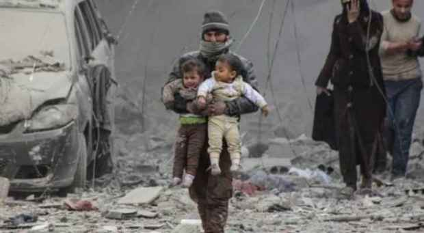 حوالي 50 ألف امرأة وطفل قتلوا.. 8 سنوات من الحرب في سوريا