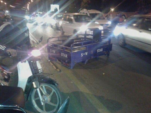 """إجهاض امرأة حامل وإصابة سائق """"تريبورتور"""".. حادثة سير خطيرة فكازا"""