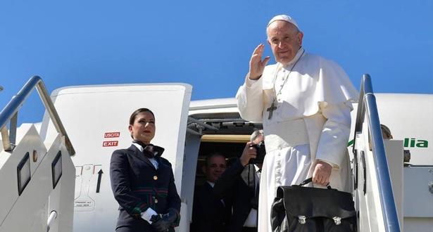 كان في وداعه العثماني.. البابا فرانسيس يغادر المغرب