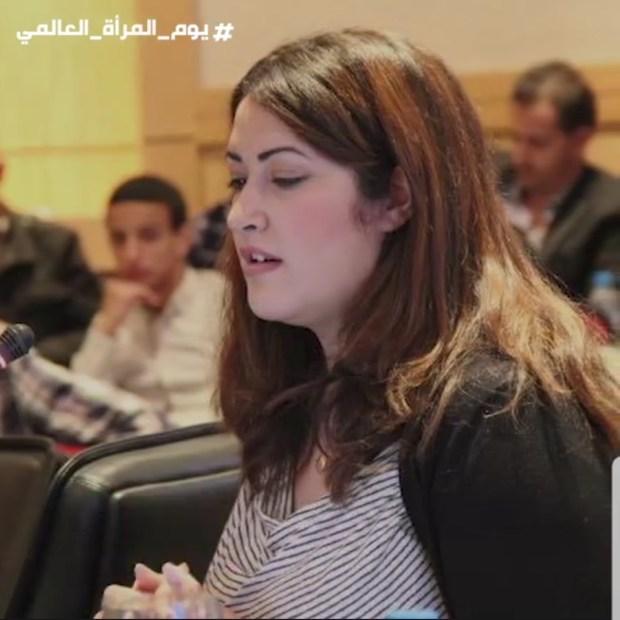 """تعمل في وكالة """"ناسا""""..المنظمة العالمية للسلام الأخضر تحتفي بالمغربية خلود كاهيم (فيديو)"""