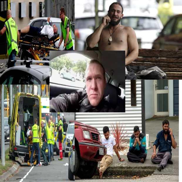 مذبحة نيوزيلندا.. صور مؤلمة