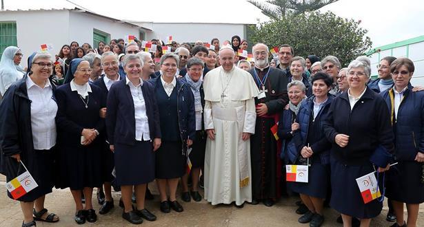 تمارة.. البابا يحل ضيفا على مركز للأعمال الاجتماعية