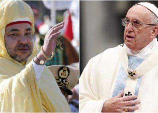 لقاء البابا فرانسوا والملك محمد السادس.. لقاء سلطتين دينيتين هامتين