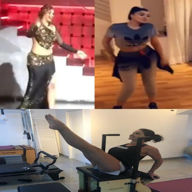رياضة ورقص.. مايا وفاتي وأسماء في أسبوع الحيوية! (صور وفيديوهات)