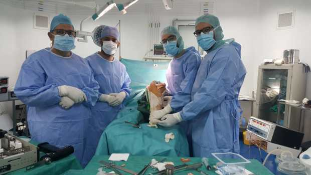 بالصور من ميدلت.. فريق طبي ينجح في استبدال مفصل مريضة وركبة أخرى