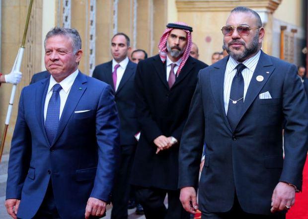 شددا على ضرورة إنهاء الأزمة السورية.. عاهلا المغرب والأردن يصفان قرار ضم إسرائيل للجولان بالباطل