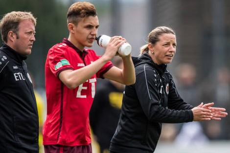 ألمانيا.. أول امرأة تتولى تدريب فريق رجالي