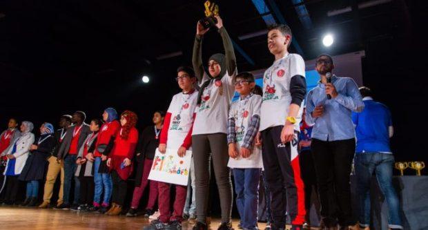 تفوق مغربي.. أطفال مغاربة يتوجونبجائزة الحكام في المسابقة العربية للروبوت في عمان