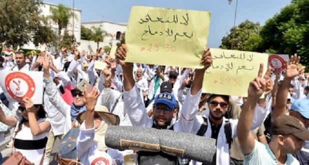 أعلنوا تمديد الإضراب لأسبوعين.. الأساتذة المتعاقدون يتحدون الوزارة