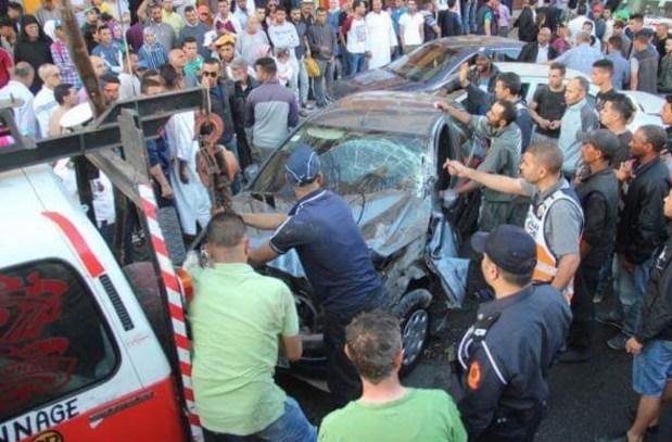بالصور من سطات.. شاحنة تدهس 6 سيارات