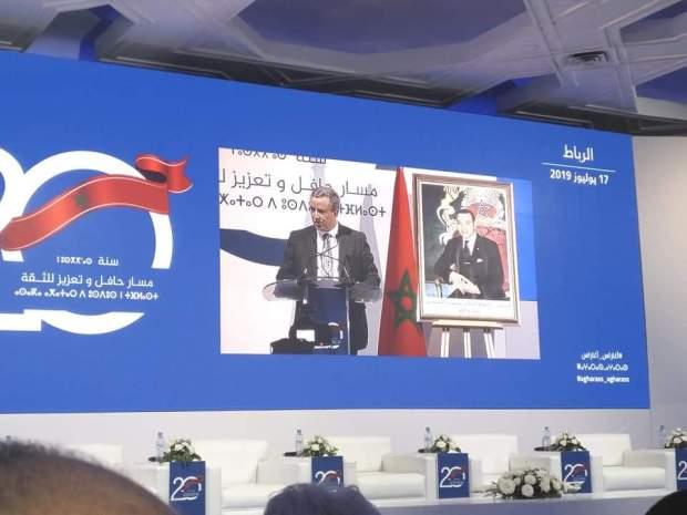 أوجار: اللحظات الأولى لتولي الملك العرش كانت لحظة انطلاق دينامية الإصلاحات في المغرب