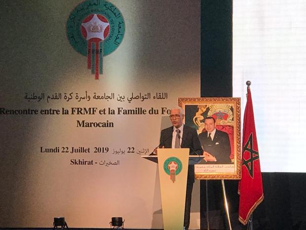 الطالبي العلمي: لقجع حاسدينو حيت مثل المغرب أحسن تمثيل