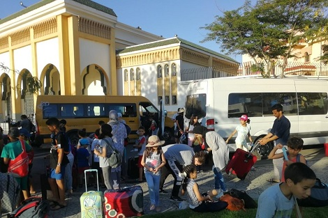 """منع مخيم """"الرسالة"""" في واد لاو.. الطالبي العلمي يتعهد بتوفير مكان جديد للمخيم"""