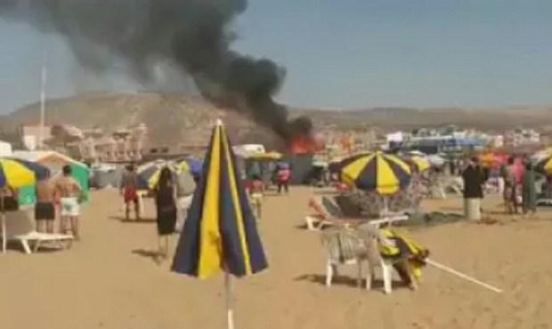 شاطىء إيمي ودار نواحي أكادير.. لالة زينة وزادها نور العافية! (فيديو)
